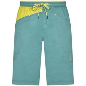 La Sportiva Bleauser Shorts Herrer, pine/kiwi